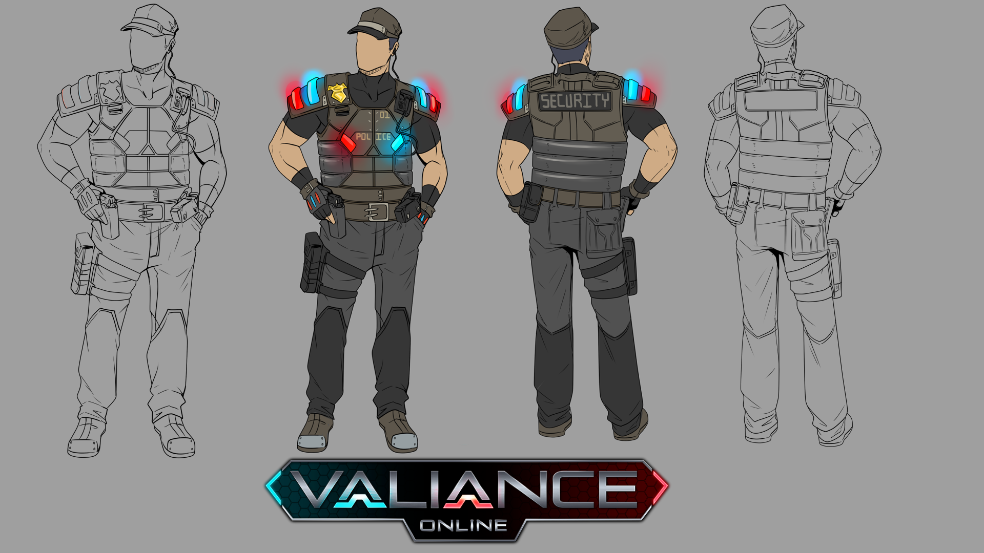 Security Guard Concept